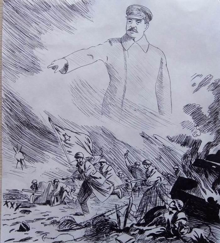 Выставка рисунков, посвященная 75-летию Победы